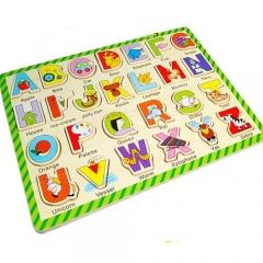 꼭지퍼즐(알파벳놀이)/학습교구,퍼즐>유아학습퍼즐