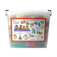 뉴천재블럭/360pcs/학습교구,퍼즐 >유아학습블럭