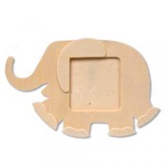 코끼리 탁상액자/점토프레임,만들기재료