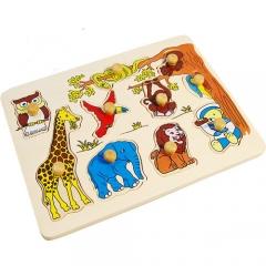 꼭지퍼즐(동물)/학습교구,퍼즐>유아학습퍼즐