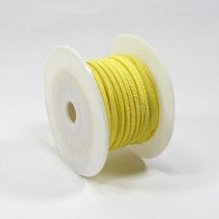 가죽끈/3mm*10Y(노랑)/리본공예재료