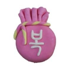 [비누클레이] 복주머니/비누만들기/솝클레이/비누만들기공예