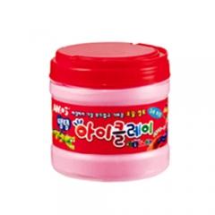 탱탱아이클레이(400g)/핑크/점토공예재료