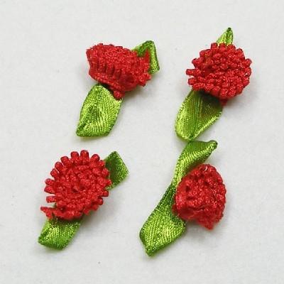 목단꽃/빨강/장식공예,만들기재료