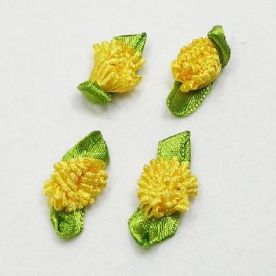 목단꽃/노랑/장식공예,만들기재료