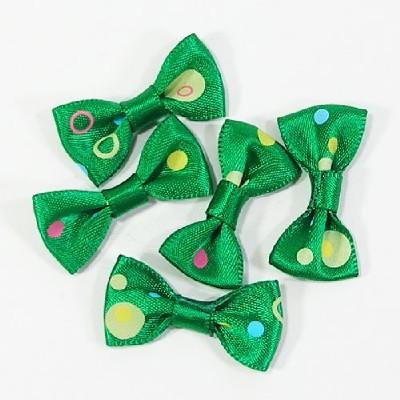 타이리본50p(칼라도트)/초록/장식공예,만들기재료