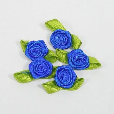 장미리본(8p) 파랑/장식공예,만들기재료
