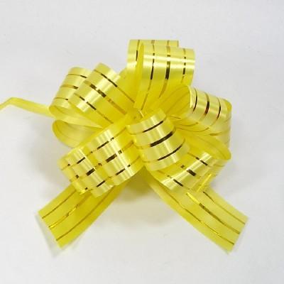 플라워리본/골드라인(노랑)/장식공예,만들기재료