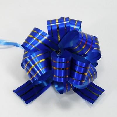 플라워리본/골드라인(파랑)/장식공예,만들기재료