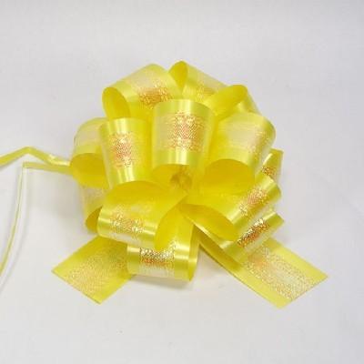 플라워리본/홀로그램(노랑)/장식공예,만들기재료