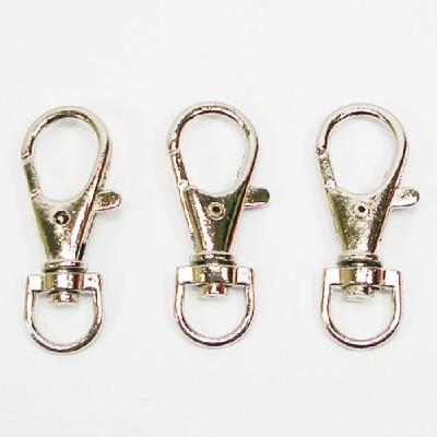 열쇠고리(14mm)/은색 50개/장식공예재료