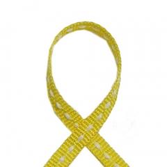 스티치리본끈(일반)노랑/리본공예재료