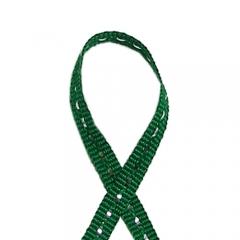 스티치리본끈(반짝이)/초록/리본공예재료