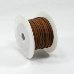 가죽끈/3mm*10Y(갈색)/리본공예재료