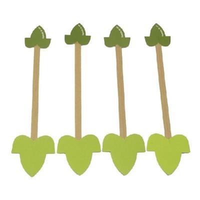 핸드메이드타이/나뭇잎 (10p)/장식공예재료