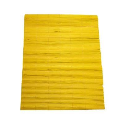 칼라나무발(20x25cm)/노랑/장식공예재료