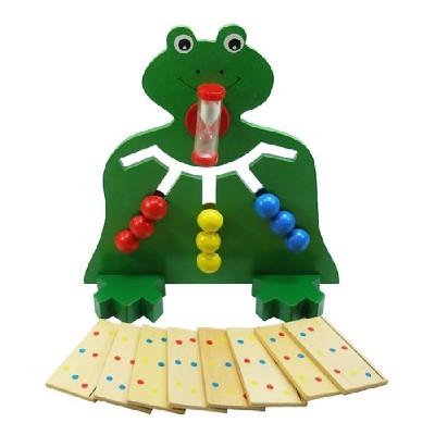 원목구슬맞추기/개구리/학습놀이교구