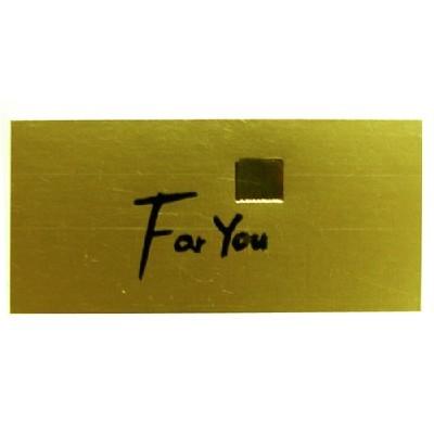금박스티커/For You(사각)