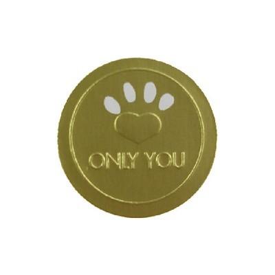 금박스티커/ONLY YOU