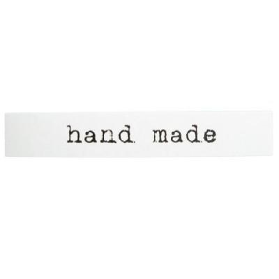 켄트지스티커/white handmade