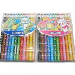 티티12색색연필(종이)/화방,미술용품 >색연필