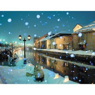 직소퍼즐(500p)/눈내리는 풍경/학습교구,퍼즐 >직소퍼즐