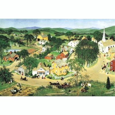 직소퍼즐(500p)/마을풍경/학습교구,퍼즐 >직소퍼즐