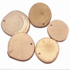 천연나무재료/원형홀(대)/나무공예재료