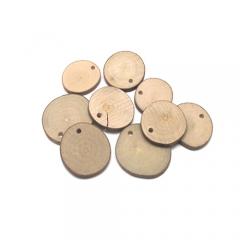 천연나무재료/원형홀(소)/나무공예재료