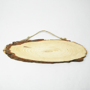 통나무걸이/25~30cm/나무공예재료