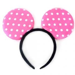 미키마우스머리띠/핑크/행사,파티용품