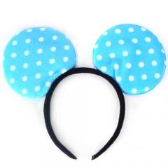 미키마우스머리띠/블루/행사,파티용품