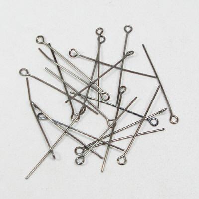 9핀(구핀)30mm/은회색/비즈공예재료