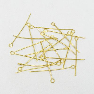 9핀(구핀)22mm/금색/비즈공예재료