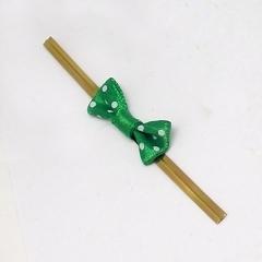 땡땡이리본타이(50P)/초록/장식공예재료