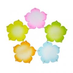 스치로폼-진주꽃판5색상/환경구성재료