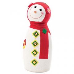 눈사람인형 45Cm 레드/크리스마스 장식소품