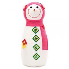 눈사람인형 45Cm 핑크/크리스마스 장식소품