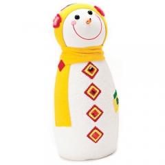 눈사람인형 45Cm 옐로우/크리스마스 장식소품