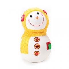 눈사람인형 32Cm 옐로우/크리스마스 장식소품