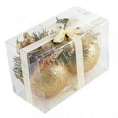 솔방울볼 10cm/2개[골드]/크리스마스 장식세트