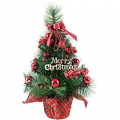솔 장식나무 50cm(레드)/크리스마스 트리용품