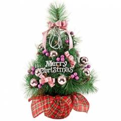 솔 장식나무 50cm(핑크)/크리스마스 트리용품