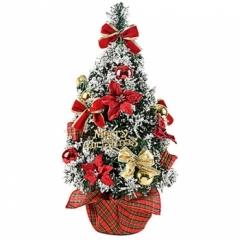 스노우장식나무 50cm/크리스마스 트리용품
