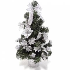 미니트리 50cm [실버]/크리스마스 트리용품