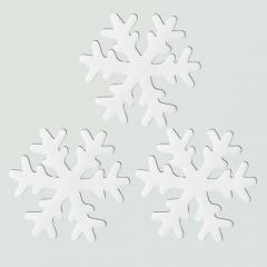 젤리설정스티커 14Cm (화이트)/3개세트/크리스마스소품,스티커