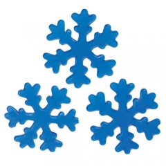 젤리설정스티커 14Cm (블루)/3개세트/크리스마스소품,스티커