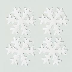 젤리설정스티커 11Cm (화이트)/4개세트/크리스마스소품,스티커