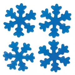 젤리설정스티커 11Cm (블루)/4개세트/크리스마스소품,스티커