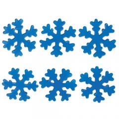 젤리설정스티커 7Cm (블루)/6개세트/크리스마스소품,스티커